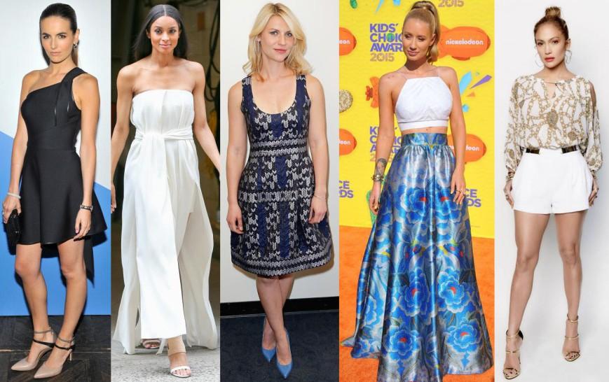 Camilla Belle, Ciara, Claire Danes, Iggy Azalea, & Jennifer Lopez.