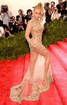 Beyonce in a sheer lace & embellished Givenchy gown at the 2015 Met Gala. 01.
