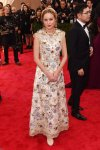 Brie Larson in an embellished sequin Dolce & Gabbana dress at the 2015 Met Gala. 01.