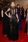 Imogen Poots in a black lace sheer dress by Alberta Ferretti at the 2015 Met Gala. 01.