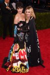 Katy Perry & Madonna both in graffiti-inspired designs by Moschino by Jeremy Scott at the 2015 Met Gala. 01.