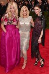 Keren Craig, Ellie Goulding, & Georgina Chapman all in Marchesa at the 2015 Met Gala. 01.