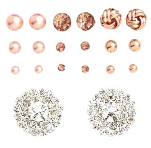H&M - stud earrings set $9