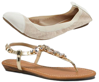 Old Navy - linen scrunch flat $22