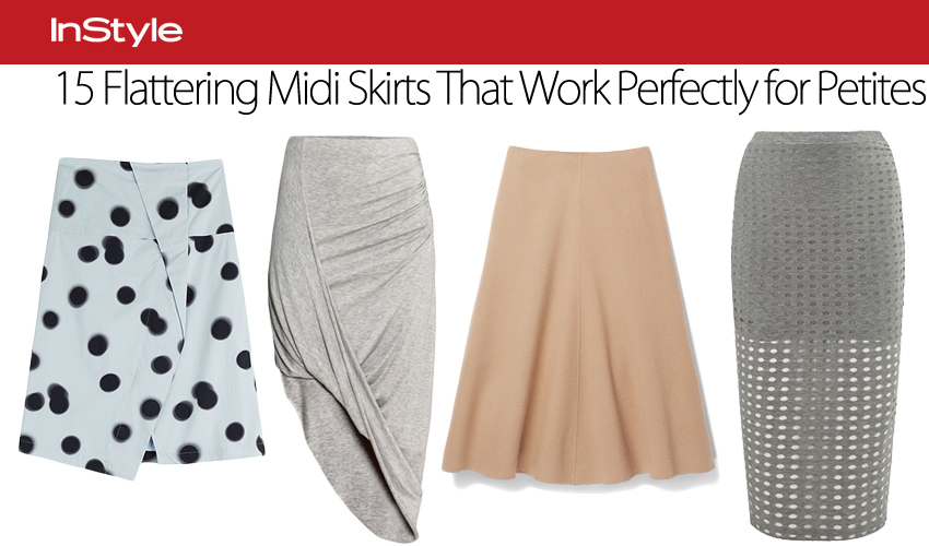 15 Flattering Midi Skirts That Work Perfectly for Petites