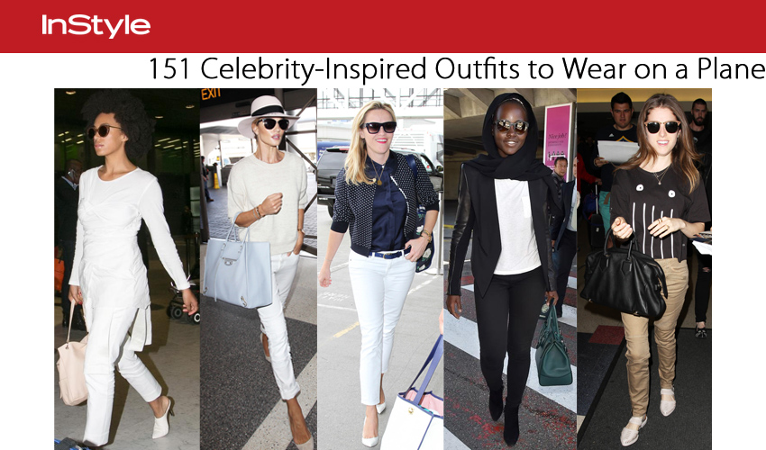 151 Celebrity-Inspired Outfits to Wear on a Plane