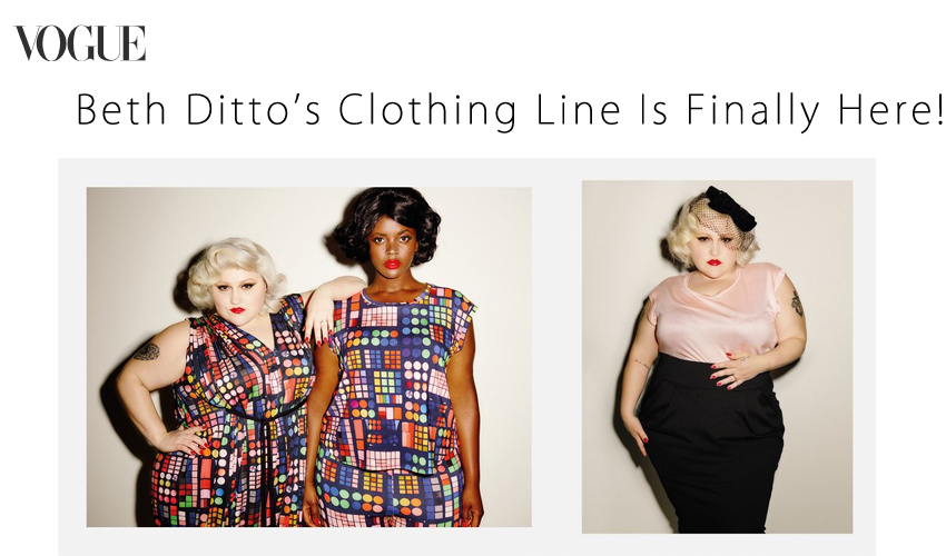 Beth Ditto's Clothing Line Is Finally Here!