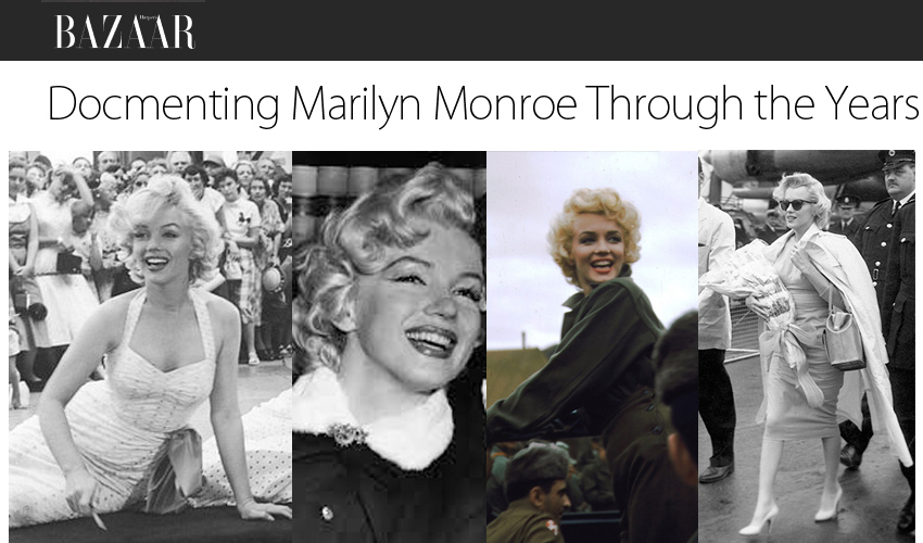 Documenting Marilyn Monroe Through the Years