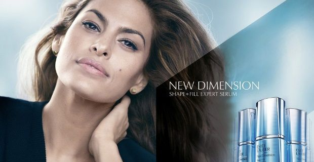 Eva Mendes for Estee Lauder's New Dimension Skincare