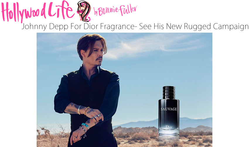 Johnny Depp For Dior Fragrance — See His New Rugged Campaign