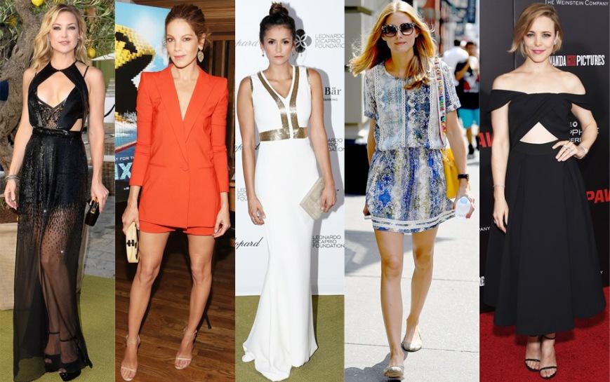 Kate Hudson, Michelle Monaghan, Nina Dobrev, Olivia Palermo, & Rachel McAdams.
