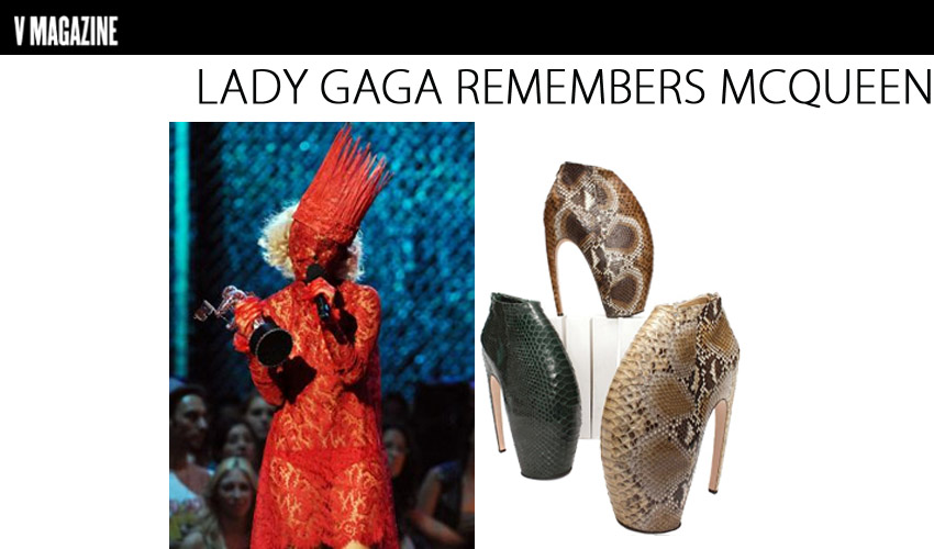 Lady Gaga Remembers McQueen