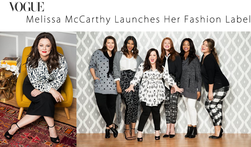 Melissa McCarthy Launches Her Fashion Label
