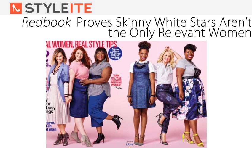 Redbook Proves Skinny White Stars Aren't the Only Relevant Women