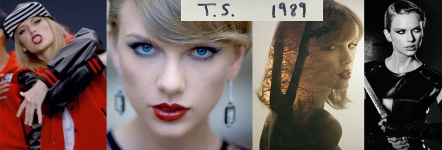 Taylor Swift 1989 featuring Shake It Off, Blank Space, Style, & Bad Blood.