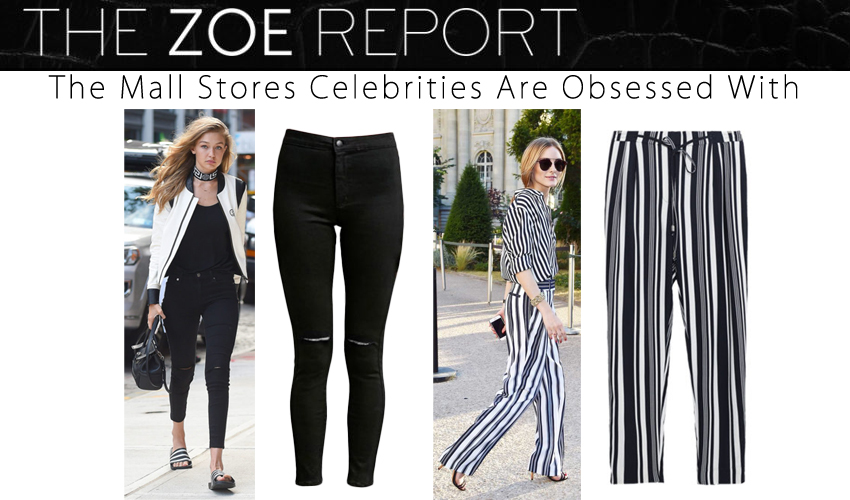The Mall Stores Celebrities Are Obsessed With