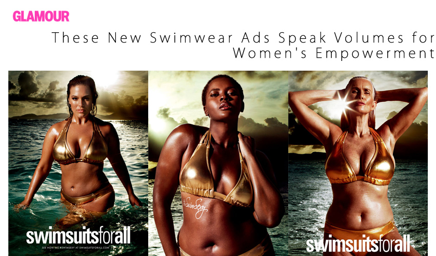 These New Swimwear Ads Speak Volumes for Women's Empowerment