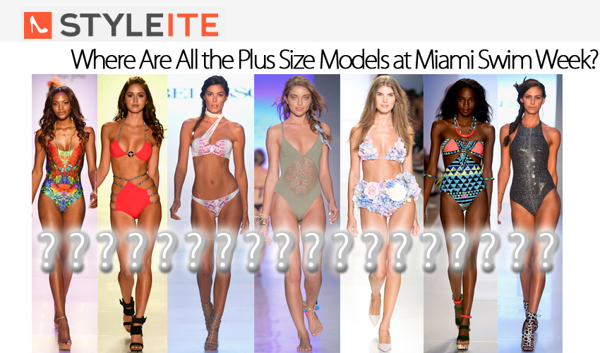 Where Are All the Plus Size Models at Miami Swim Week