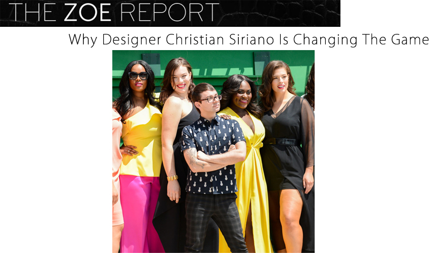 Why Designer Christian Siriano Is Changing The Game