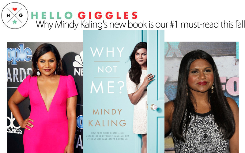 Why Mindy Kaling's new book is our #1 must-read this fall