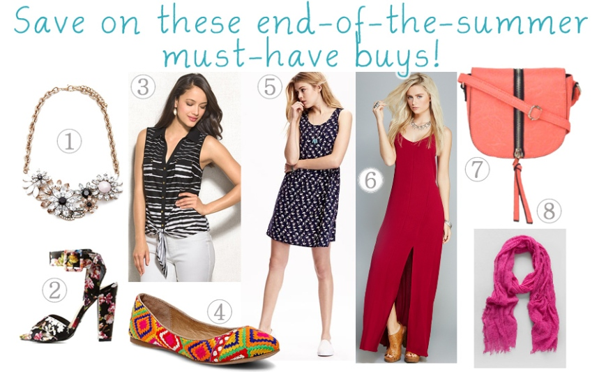 Quickie Darling Deal & Steal - End of the summer deals.