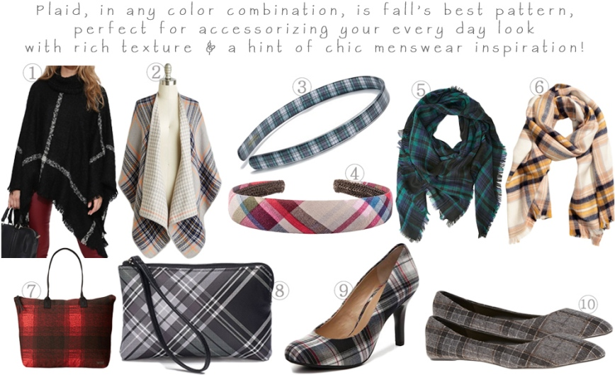 Accessories Access - Mad for Plaid This Fall!