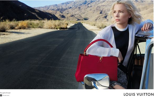 Michelle WIlliams & Alicia Vikander for Louis Vuitton Cruise '16 - The Spirit of Travel 01