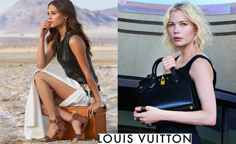 Michelle WIlliams & Alicia Vikander for Louis Vuitton Cruise '16 - The Spirit of Travel