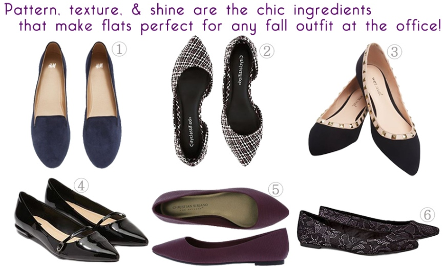 Show Me the Shoes - Affordable Fall Flats for the Office!