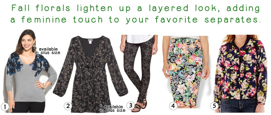 The Stylish Five - Fall Florals