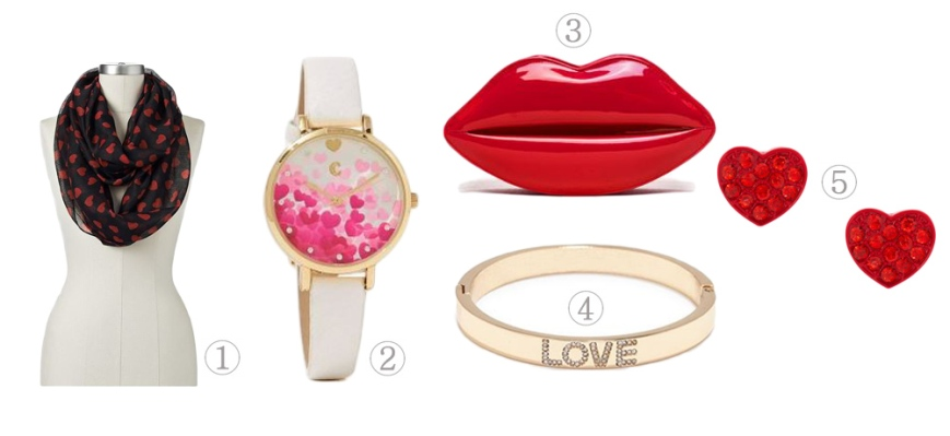 The Stylish Five - Love-Themed Accessories Just In Time For Valentine's Day!