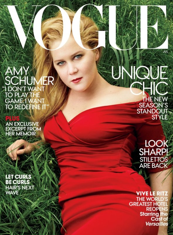Amy Schumer for Vogue July 2016