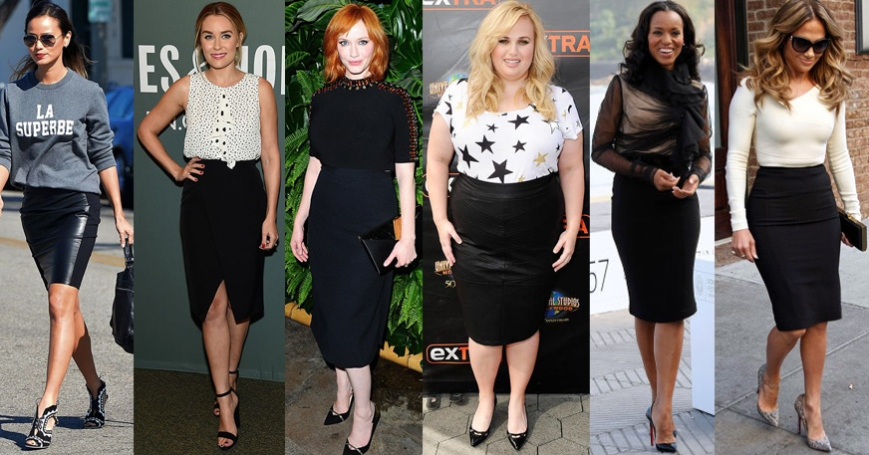 Jamie Chung, Lauren Conrad, Christina Hendricks, Rebel Wilson, Kerry Washington, & Jennifer Lopez.