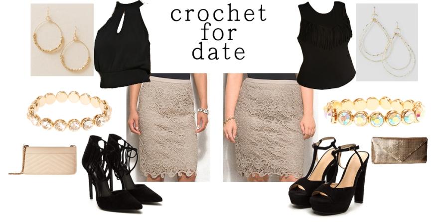 Crochet for date.