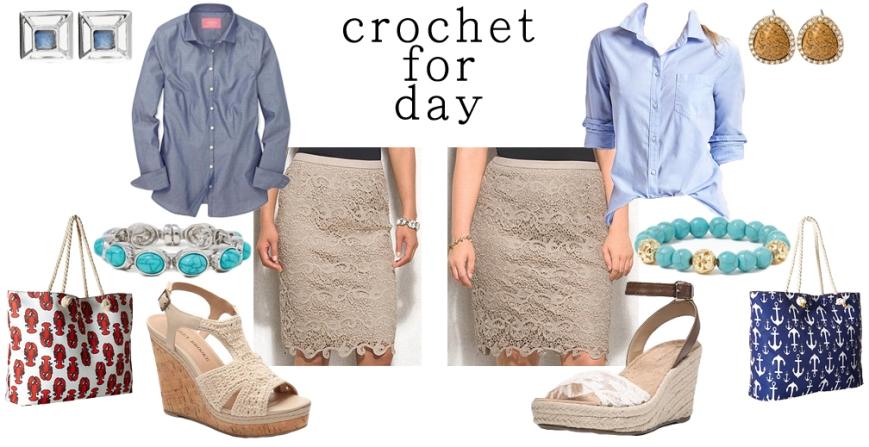 Crochet for day.