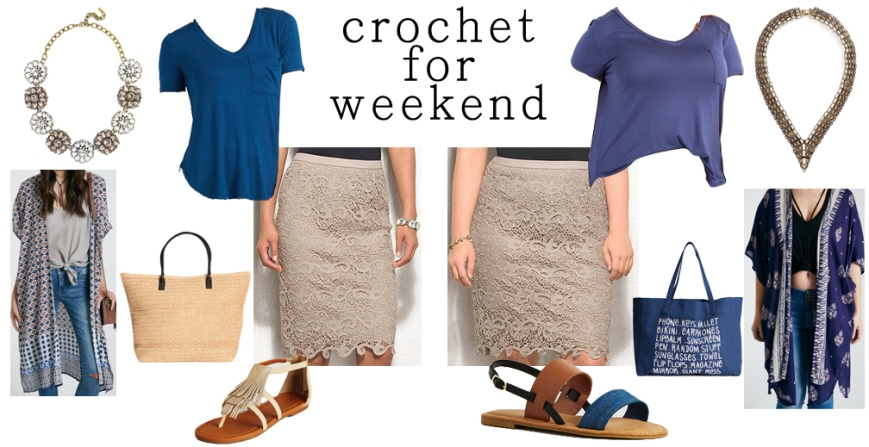 Crochet for weekend.