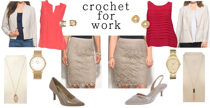 Crochet for work.
