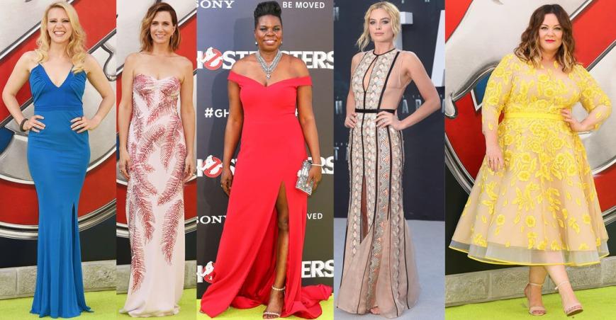 Kate McKinnon, Kristen Wiig, Leslie Jones, Margot Robbie, & Melissa McCarthy.
