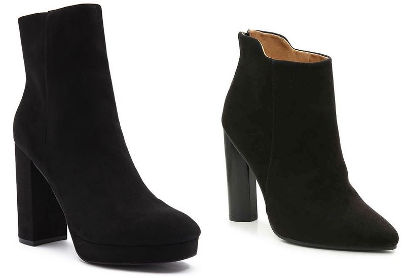 e52e54ef44c faux suede ankle bootie  Forever 21   Qupid Parma bootie  DSW