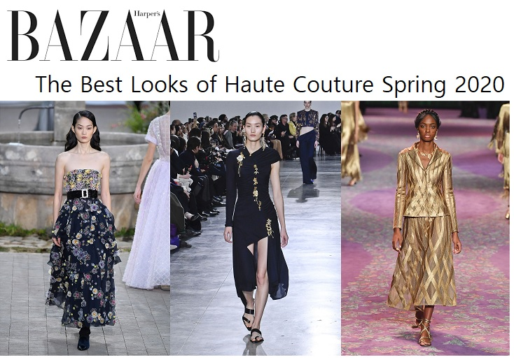 The Best Looks of Haute Couture Spring 2020 from Harper's Bazaar